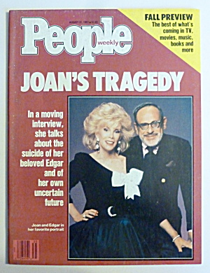 People Magazine August 31, 1987 Joan Rivers