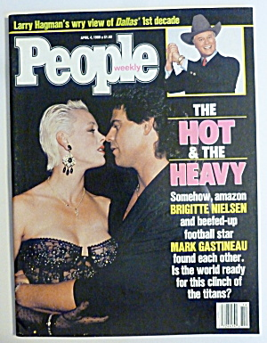 People Magazine April 4, 1988 Brigitte Nielsen