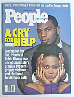 People Magazine September 26, 1988 Mike Tyson