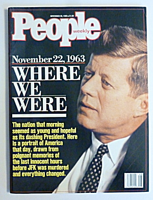 People Magazine November 28, 1988 Where We Were (Image1)