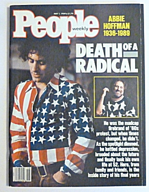 People Magazine May 1, 1989 Death Of A Radical  (Image1)