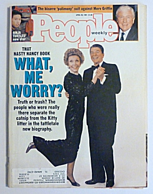 People Magazine April 29, 1991 Ronald & Nancy Reagan