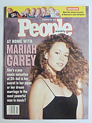 People Magazine November 22, 1993 Mariah Carey