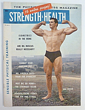 Strength & Health December 1963 Vern Weaver