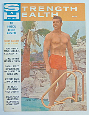 Strength & Health December 1964 Mickey Hargitay