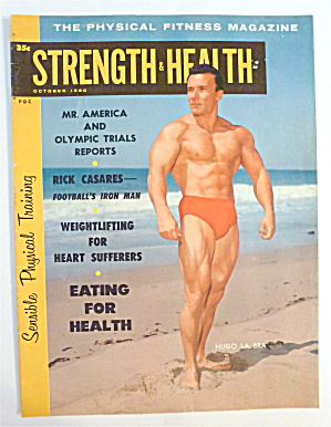 Strength & Health Magazine October 1960 Hugo La Bra