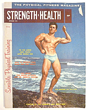 Strength & Health Magazine October 1958 Tom Drescher