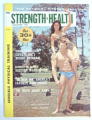 Strength & Health December 1961 Woodhouse & Johnson