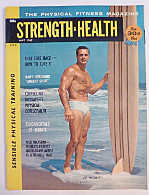 Strength & Health Magazine May 1962 Vic Nicoletti