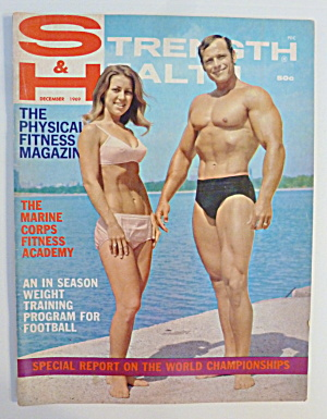 Strength & Health December 1969 Curt & Sharon Haywood
