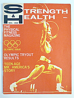 Strength & Health November 1968 Olympic Issue
