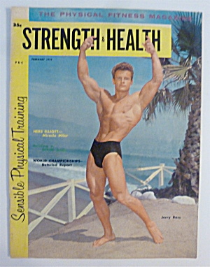 Strength & Health Magazine February 1959 Jerry Ross