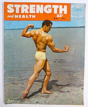 Strength & Health Magazine May 1953 Tex Khoury (Image1)