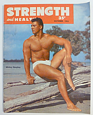 Strength & Health Magazine October 1953 Mickey Hargitay