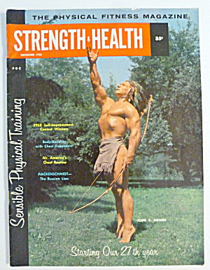 Strength & Health Magazine December 1958 John Grimek