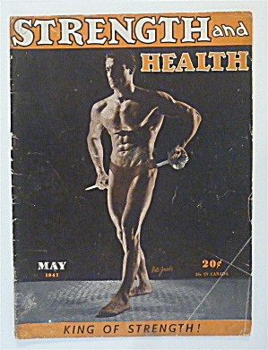 Strength & Health Magazine May 1947 Pete Jacobs
