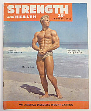 Strength & Health Magazine January 1953 Henry Lenz