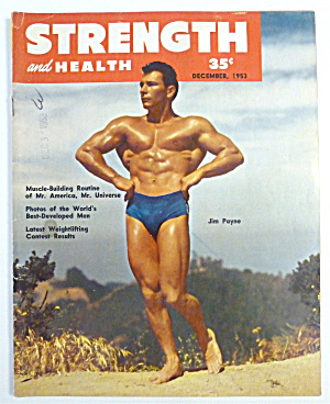 Strength & Health Magazine December 1953 Jim Payne