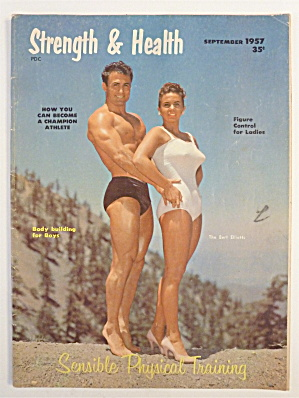 Strength & Health Magazine September 1957 Bert Elliotts