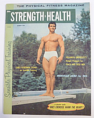 Strength & Health Magazine March 1959 Vern Weaver