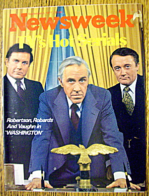 Newsweek Magazine-september 5, 1977-robertson