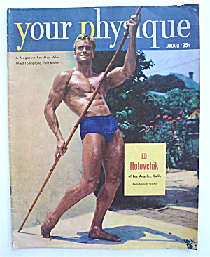 Your Physique Magazine January 1952 Ed Holovchik (Image1)
