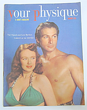 Your Physique Magazine March 1950 Lex Barker/Val Njord (Image1)