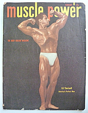 Muscle Power Magazine February 1950 Ed Theriault