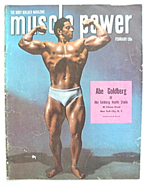 Muscle Power Magazine February 1952 Abe Goldberg
