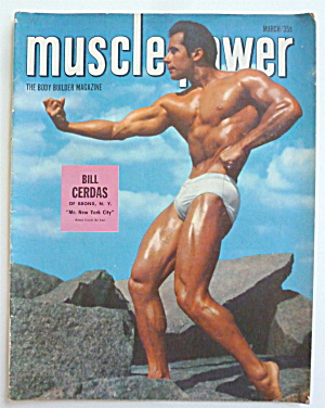 Muscle Power Magazine March 1952 Bill Cerdas