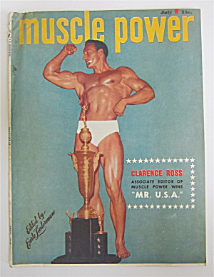 Muscle Power Magazine July 1948 Clarence Ross