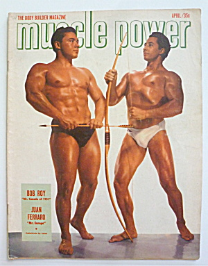 Muscle Power Magazine April 1952 Bob Roy/Juan Ferraro (Image1)