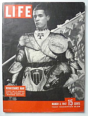 Life Magazine-March 3 1947-Renaissance Man (Image1)