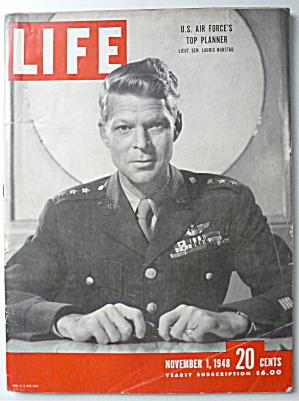 Life Magazine-November 1, 1948-Lieut Gen Lauris Norstad (Image1)