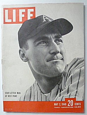 Life Magazine-may 2, 1949-eight Letter Man West Point