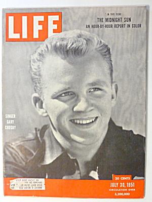 Life Magazine-July 30, 1951-Singer Gary Crosby  (Image1)