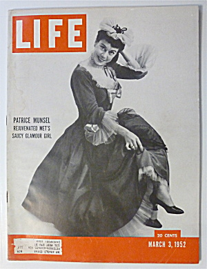Life Magazine-March 3, 1952-Patrice Munsel  (Image1)