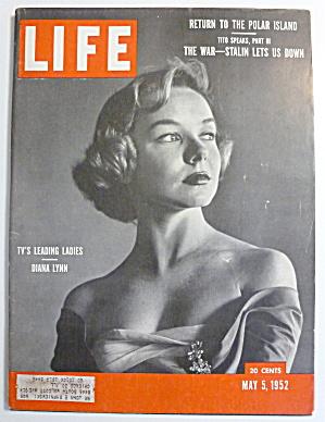 Life Magazine-May 5, 1952-Diana Lynn  (Image1)