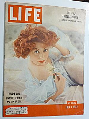 Life Magazine-July 7, 1952-Arlene Dahl (Image1)