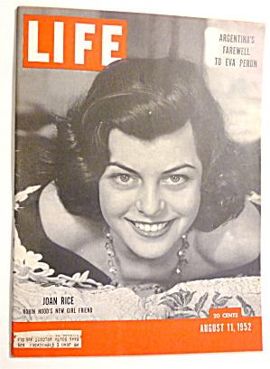 Life Magazine-August 11, 1952-Joan Rice  (Image1)