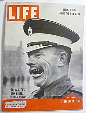 Life Magazine-February 16, 1953-Her Majesty's Guards (Image1)