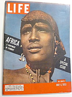 Life Magazine - May 4, 1953 - Africa (Image1)