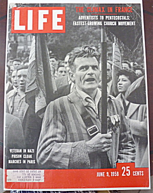 Life Magazine - June 9, 1958 - Veteran In Nazi Cloak (Image1)