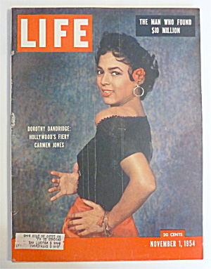 Life Magazine-November 1, 1954-Dorothy Dandridge (Image1)