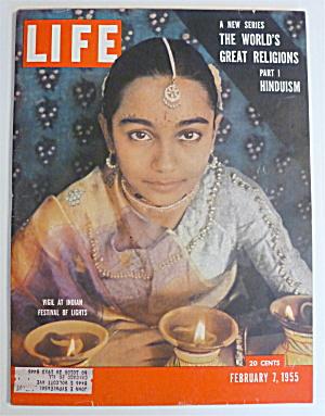 Life Magazine-February 7, 1955-Indian Festival  (Image1)