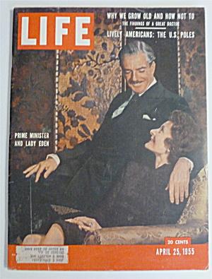 Life Magazine-April 25, 1955-Prime Minister & Lady Eden (Image1)