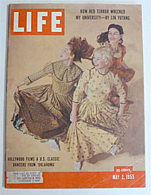 Life Magazine-May 2, 1955-Dancers From Oklahoma (Image1)