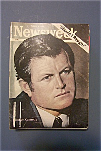 Newsweek Magazine - August 4, 1969 - Should I Resign? (Image1)