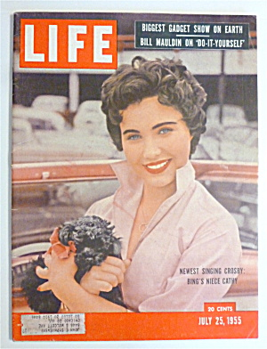 Life Magazine-july 25, 1955-bing's Niece Cathy