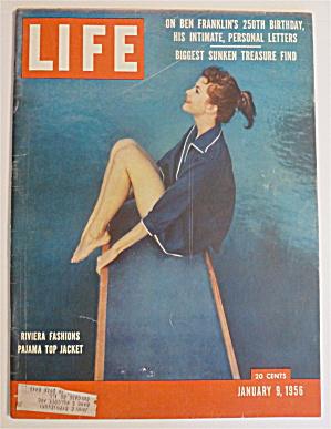 Life Magazine-January 9, 1956-Riviera Fashions  (Image1)